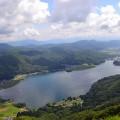 小熊山トレッキングコース(林道)を通って黒沢高原から木崎湖へ