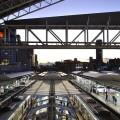 夕方の大阪駅