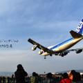 大阪伊丹空港32Lエンド(千里川堤防)