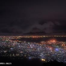 麻耶山からの夜景