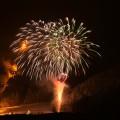 鹿島槍の火祭り2015
