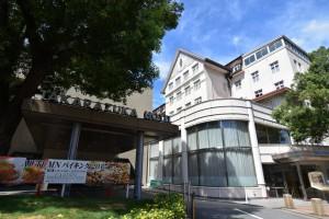 宝塚ホテルと宝塚の風景