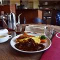 松本市洋食屋さん「おきな堂」のボルガライス