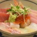 葉月さんの海鮮丼 (長野県大町市)